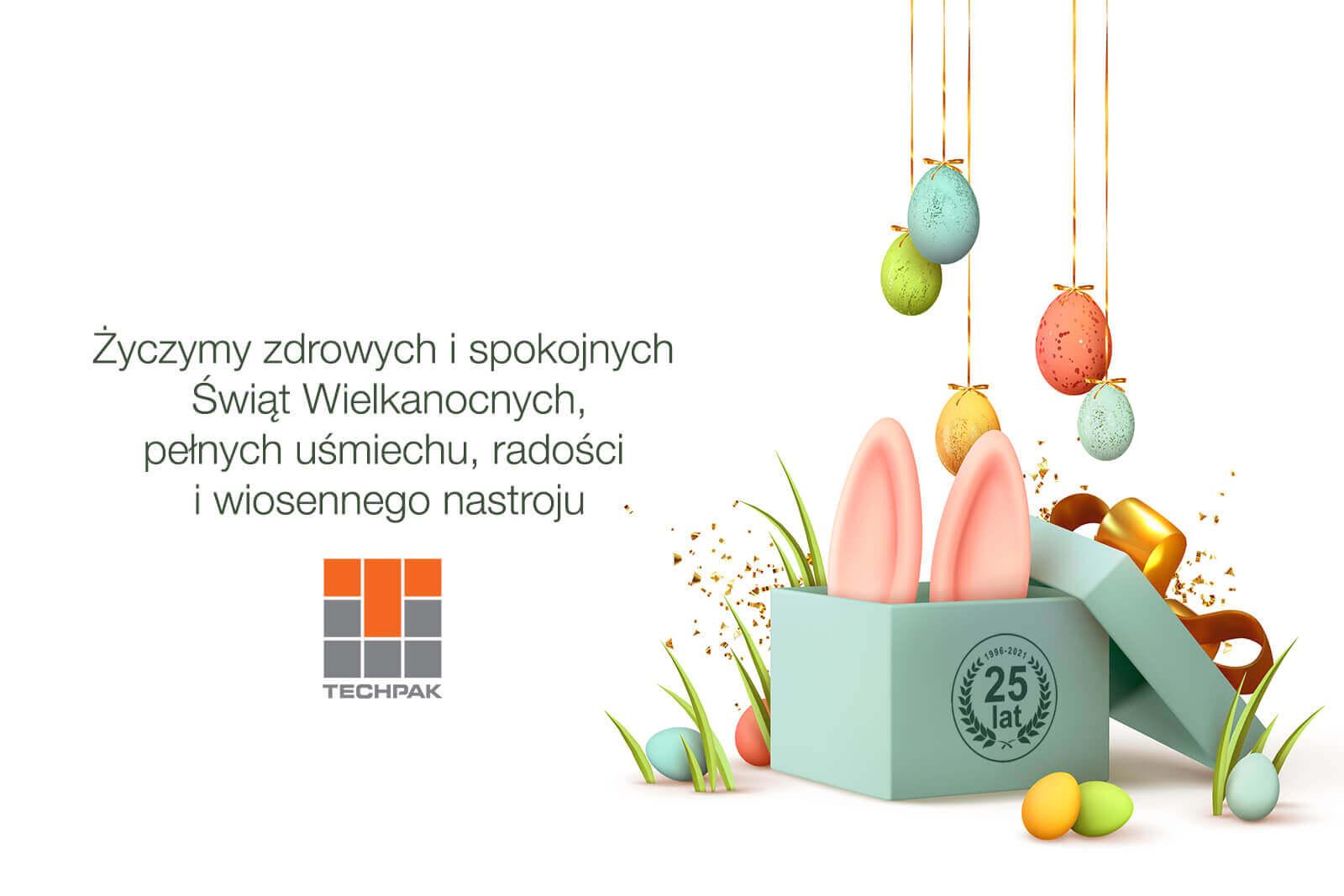 Życzymy zdrowych i spokojnych Świąt Wielkanocnych